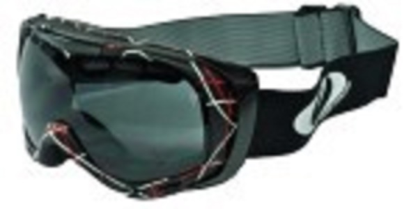 Snow Goggle, Double Lens,Anti Fog,Silicone Strap,High Density Foam